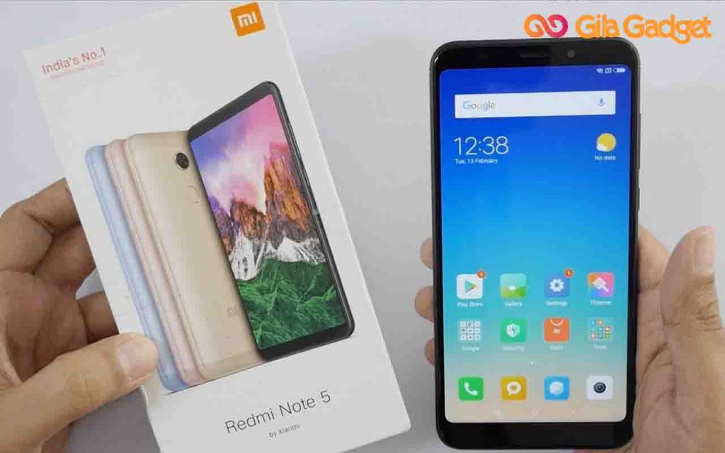 HP Xiaomi Redmi Note 5